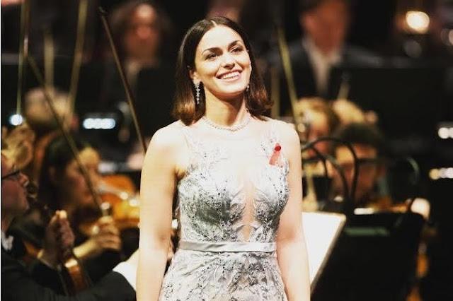 Soprano armenia deslumbra en el evento de Dresde