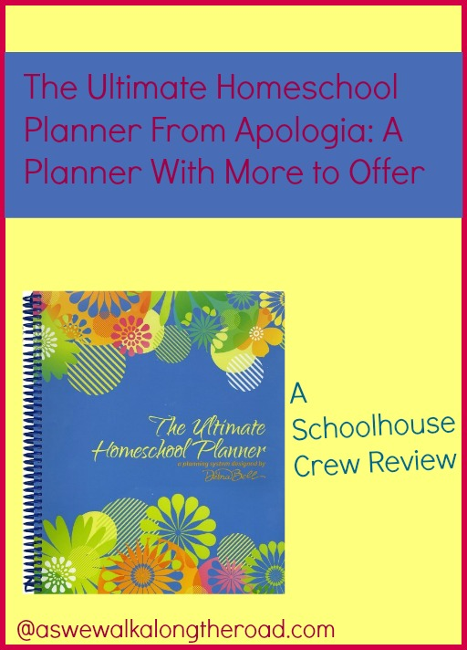 Review of the Ultimate Homeschool Planner from Apologia