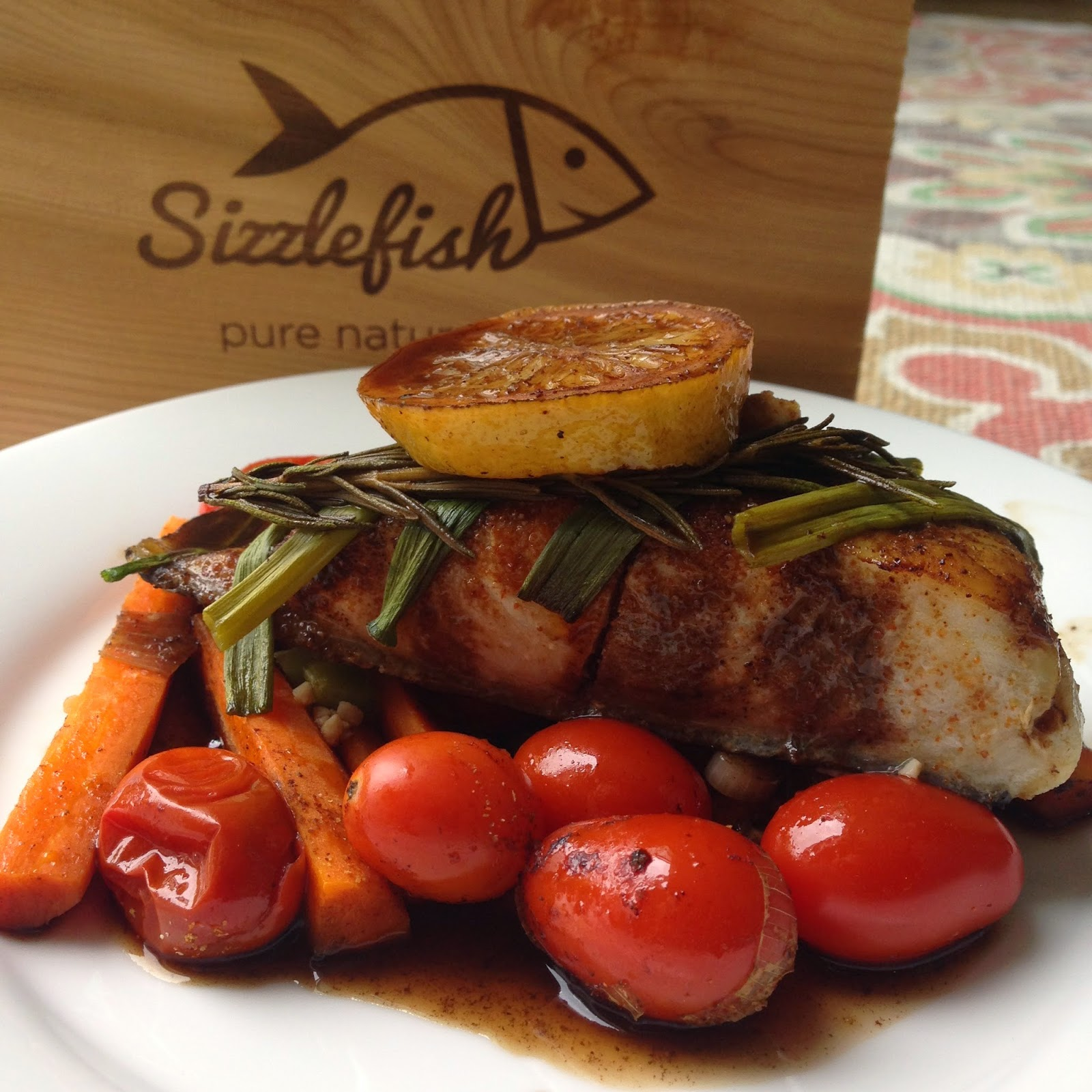 Sizzlefish…. Sizzlin' Magic!