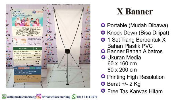 Spesifikasi X Banner