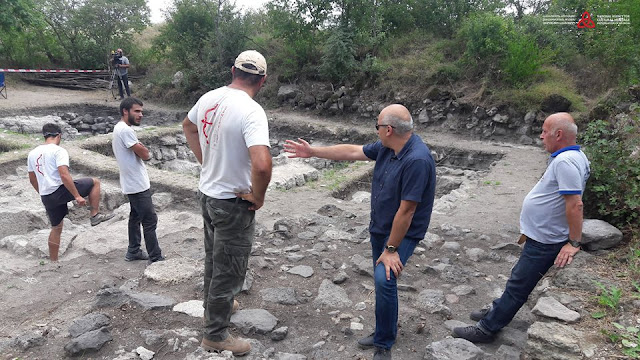 Archaeologists discover medieval coin hoard in ancient Georgian city of Samshvilde