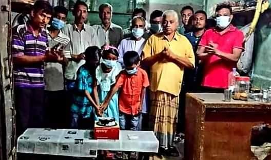 সুচক্রদন্ডীতে  শেখ রাসেল এর ৫৬ তম জন্মদিন পালন