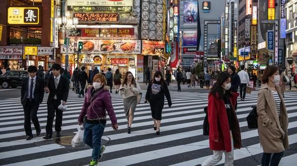 10 Ribu Orang Positif Corona, Rumah Sakit Jepang Mulai Kewalahan