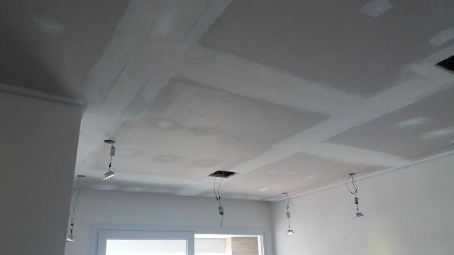 Aplicação de Massa e pintura de tetos