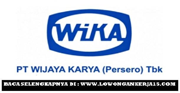 Rekrutmen Terbaru PT Wijaya Karya (Persero) Tbk November 2017