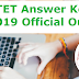 CTET Answer Key 2019 Official Out at ctet.nic.in - Get Direct Link