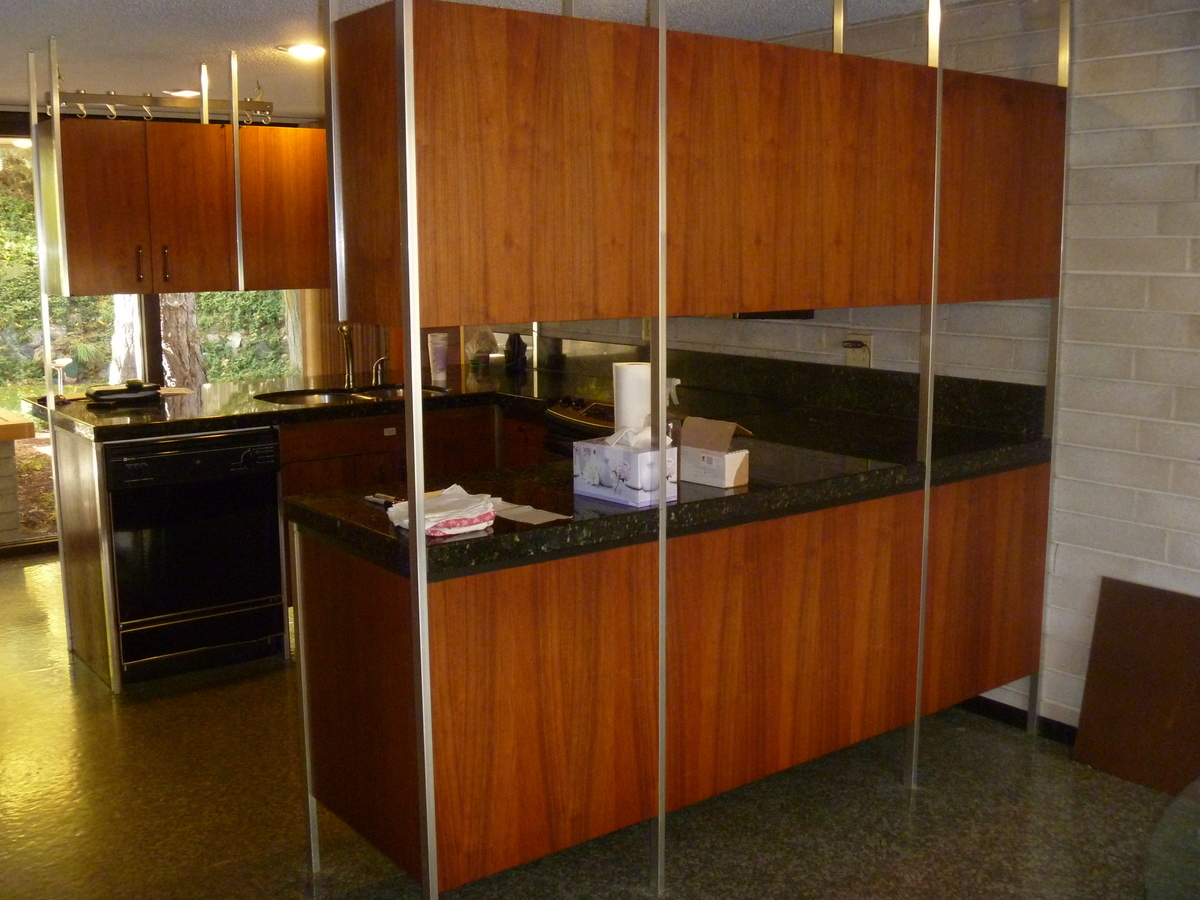 Enzy Living White Amp Wenge Modern Kitchen Remodel