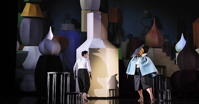 Verdi: Don Carlos - Leonardo Capalbo, Raehann Bryce Davis - Opera Vlaanderen (Photo Annemie Augustijns)