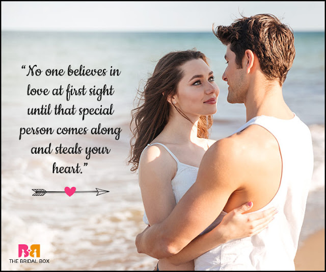 I don't believe in love at first sight quotes 2020