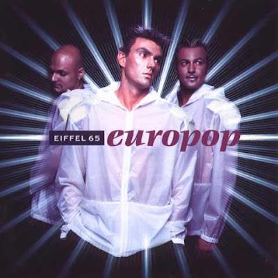 La copertina di ''Europop'', primo album degli Eiffel 65 (1999)