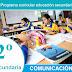 Competencias, capacidades y desempeños de Comunicación_2º CN-2017
