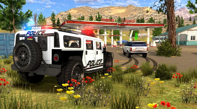 لعبة Police Drift Car Driving Simulator