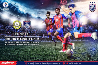 Live Streaming Pknp vs JDT Liga Super 14.6.2019
