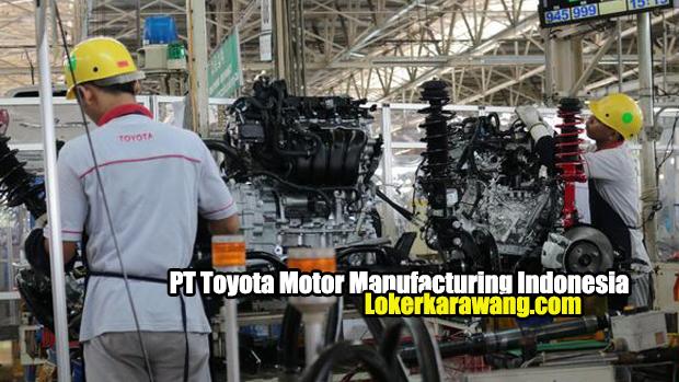 Lowongan Kerja PT. Toyota Motor Manufacturing Indonesia Karawang
