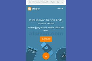 Cara Membuat Blog Gratis di Android