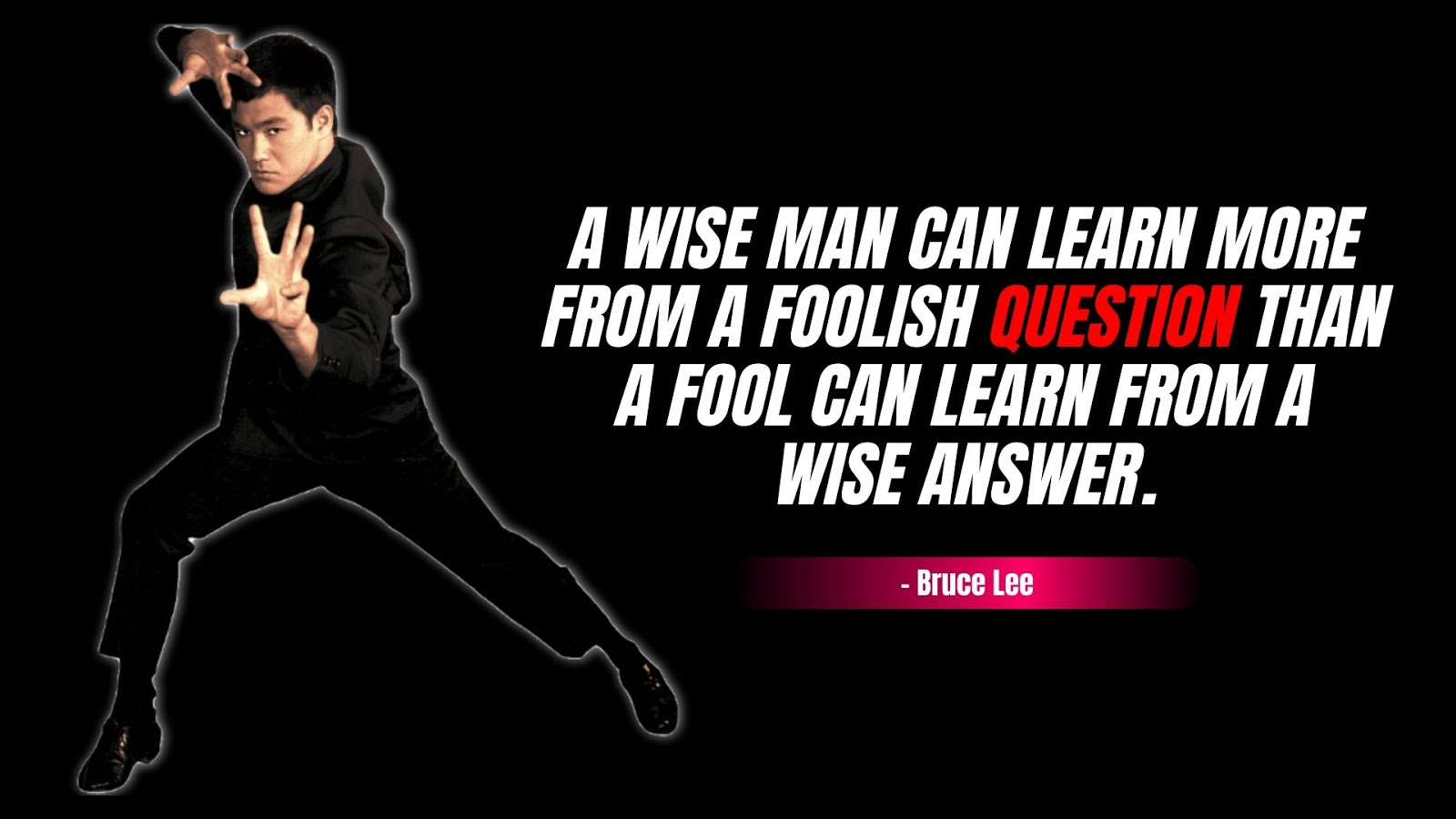 Bruce Lee Quotes for Life
