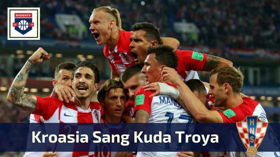 Kroasia Sang Kuda Troya