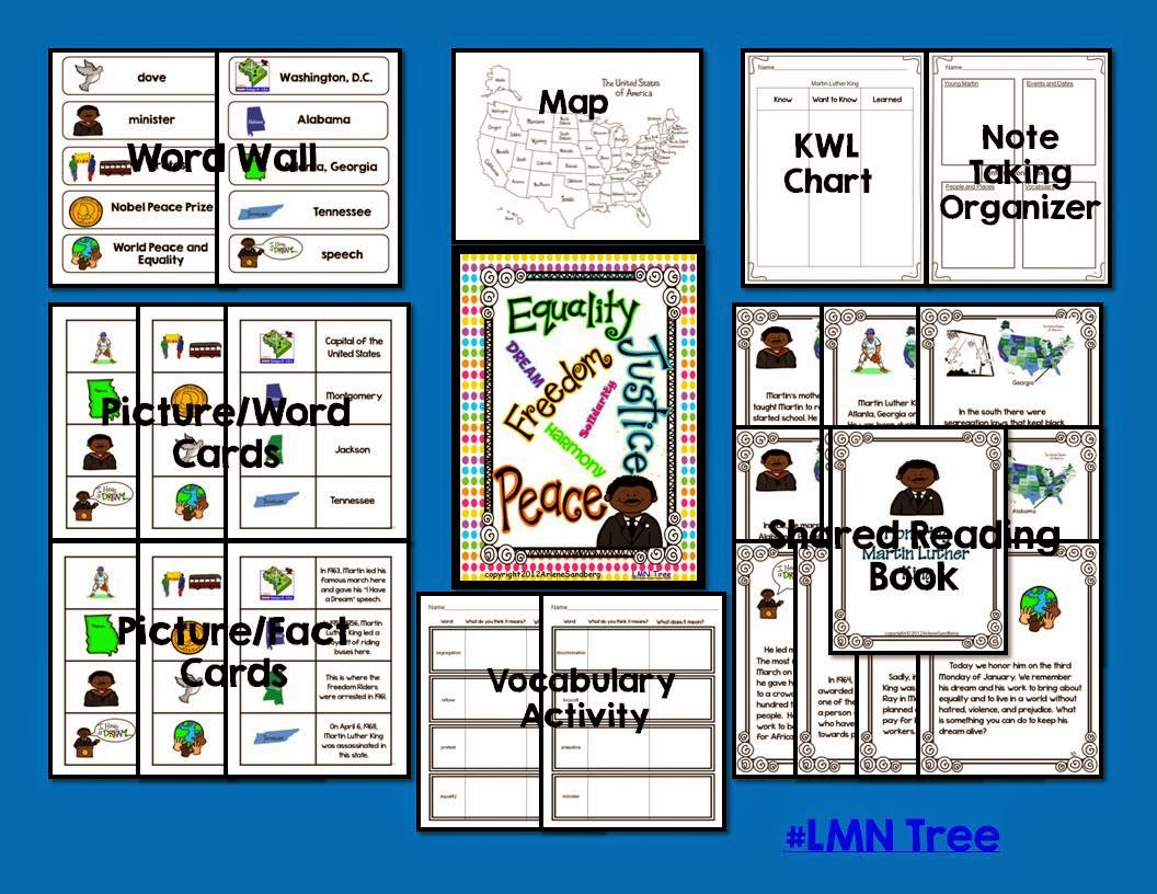 Lmn Tree Martin Luther King Free Resources Free Lessons