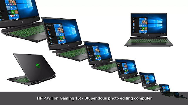 HP Pavilion Gaming 15t - stupendous photo editing computer