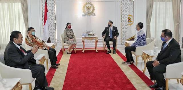 Bertemu Puan, AHY Bicarakan Corona Hingga Titip Salam Hormat Ke Megawati