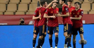 España se impuso 3-1 a Kosovo y endereza el rumbo a Catar-2022