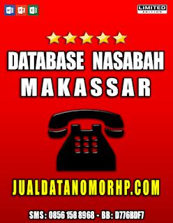 Jual Database Nasabah Prioritas Makassar