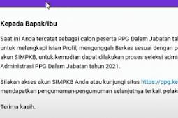 Cara Unggah Berkas Seleksi Administrasi PPG Daljab 2021