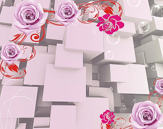 Tranh hoa hồng hàn quốc