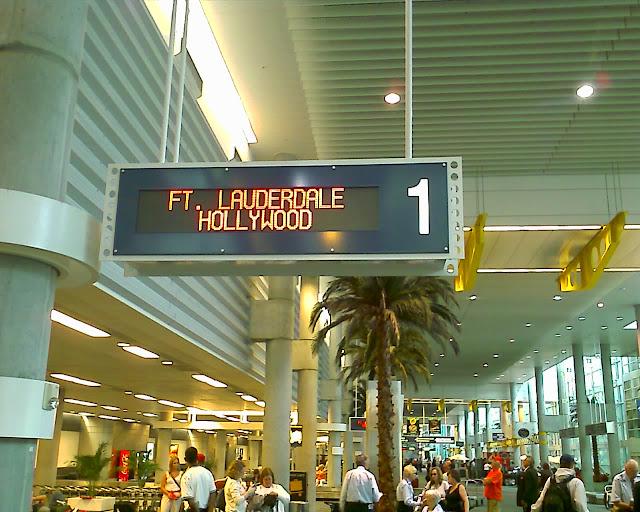 Transfer do Aeroporto de Fort Lauderdale até o hotel