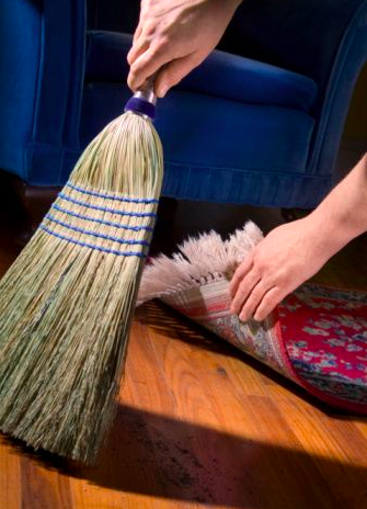 Sweep Under The Rug Home Decor