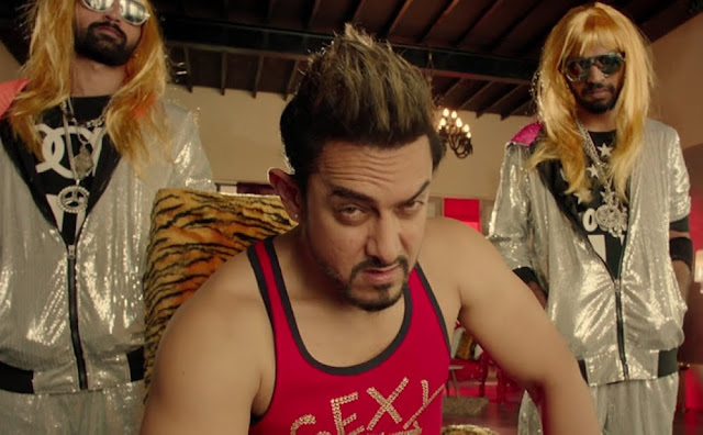Aamir Khan as Music Director Shakti Kumar in Secret Superstar