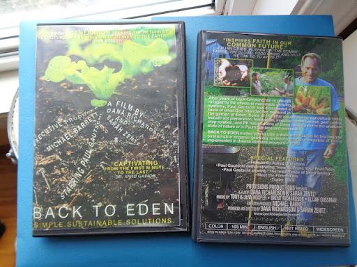 click on pic - Back To Eden Film - USA *Abundance*
