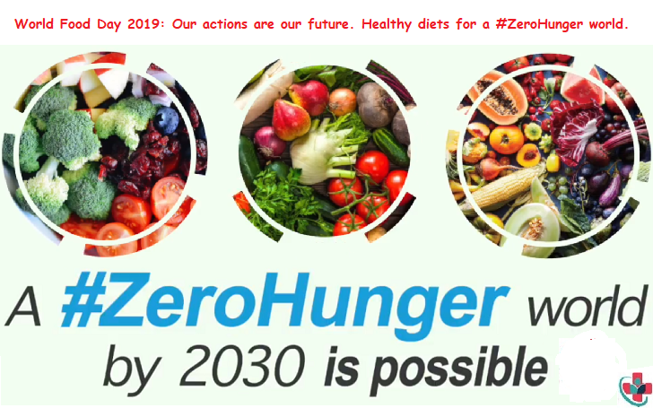 World Food Day 2019: Our actions are our future. Healthy diets for a #ZeroHunger world.