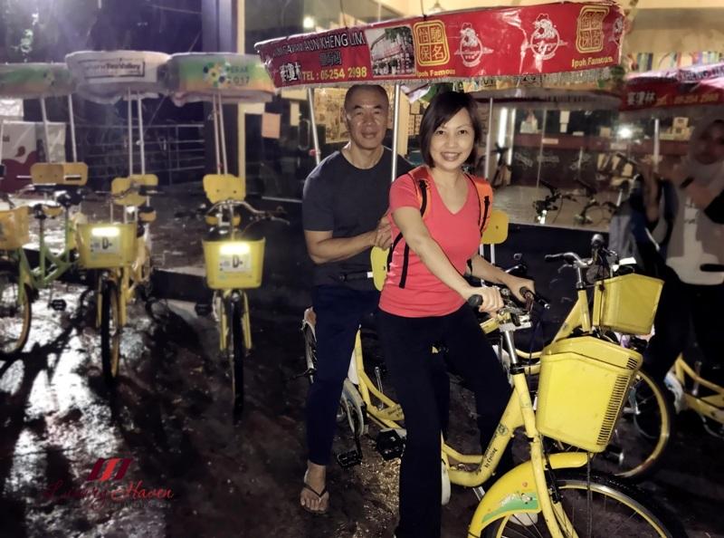 malaysia tourism perak kinta river mbike night cycling