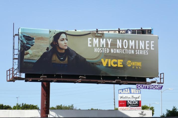 Vice 2020 Emmy nominee billboard