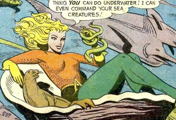Mengenal Aquagirl, Sidekick Aquaman dari DC Comics lisa morel