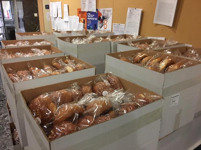 1.620 πασχαλινά τσουρέκια πρόσφερε επιχείρηση της Αργολίδα στο Λαϊκό Νοσοκομείο