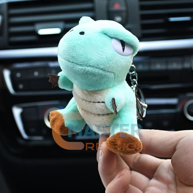 stuffed dinosaur doll