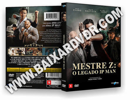 Mestre Z – O Legado Ip Man (2021) DVD-R AUTORADO