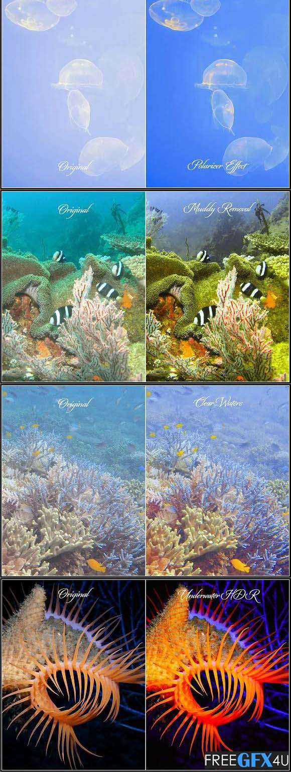 Dive Fix & HDR LUTs