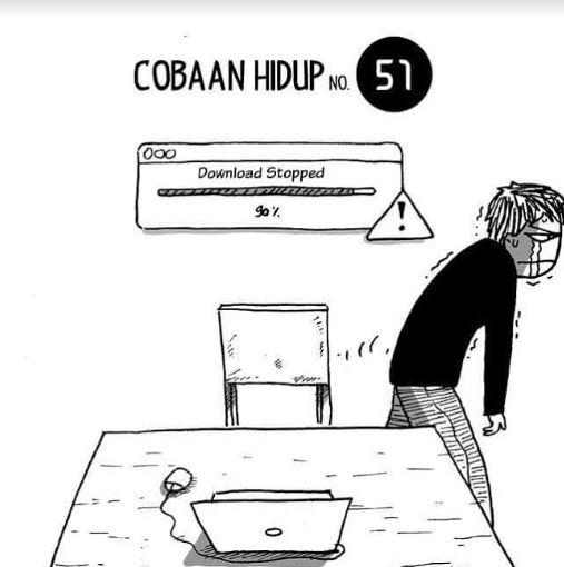10 Meme 'Cobaan Hidup' yang Pantang Banget Buat Diketawain