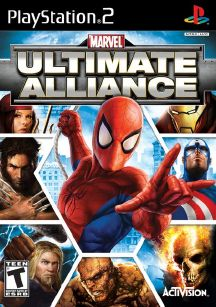 Marvel Ultimate Alliance PS2 ISO