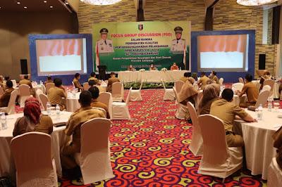 Pemprov Lampung Gelar FGD Peningkatan Kualitas Pertanggungjawaban Pelaksanaan APBD Kabupaten/Kota