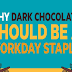 Why Dark Chocolate Should be a Workday Staple #infographic