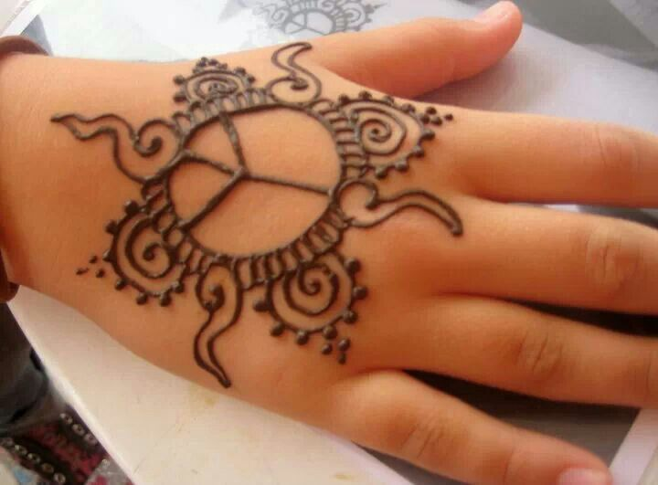 Mahandi designs for kids