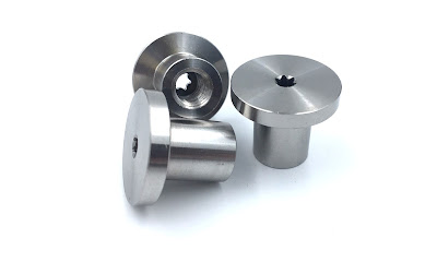 Custom Binding Post - Female In 316 Stainless Steel Material With 6Lobe (Torx Alternative) Drive