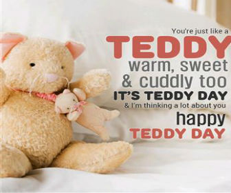 teddy day friend images