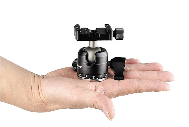 Sunwayfoto XB-28 Low Profile Ball Head overview