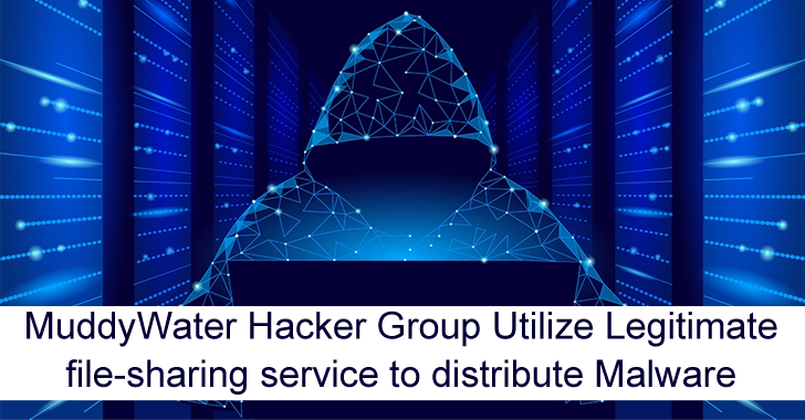 MuddyWater Hacker Group Utilize Legitimate File-Sharing Service to Distribute Malware