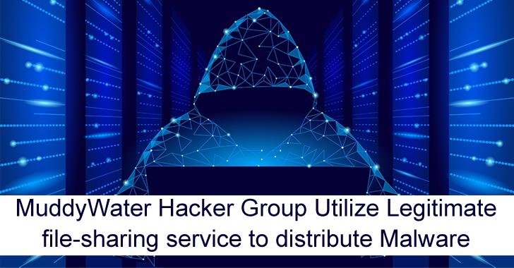 MuddyWater Hacker Group Utilize Legitimate File-Sharing Service to Distribute Malware